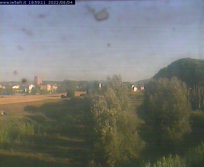 Webcam Pontedera - Fiume Arno